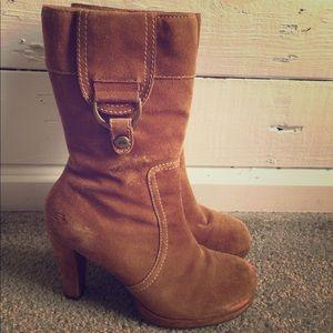 Sketchers heeled boots